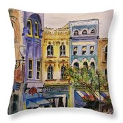 Asheville Throw Pillow