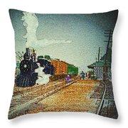 Ashland Station Throw Pillow