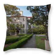 Ashley Hall School Throw Pillow