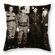 Ashley Pa  Glen Alden Coal Co  Huber Coal Breaker 1962 Throw Pillow