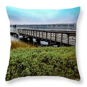 Ashley River Sc Throw Pillow