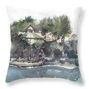 Ashton Garden's Tampa Throw Pillow
