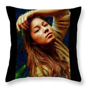 Asia Demarre  Throw Pillow