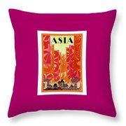 Asia Throw Pillow