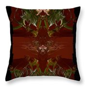 Asian Spice Throw Pillow