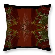Asian Spice Two Throw Pillow