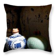 Asian Spirits Throw Pillow