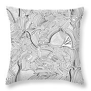 Askance Throw Pillow