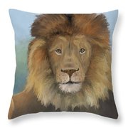 Aslan Throw Pillow