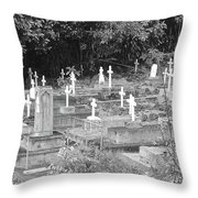 Asleep In Paradise Throw Pillow