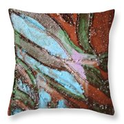 Asleep Tile Throw Pillow