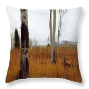 Aspen Forest Shear II Throw Pillow