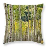 Aspen Stand Throw Pillow