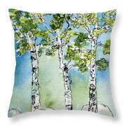 Aspen Trio Throw Pillow