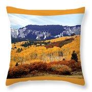 Aspen Vista Throw Pillow