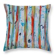 Aspens Abstract IIi Throw Pillow