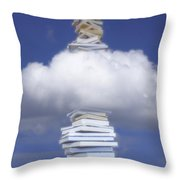 Aspirations Of Knowledge Throw Pillow