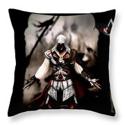 Assassin's Creed II Throw Pillow