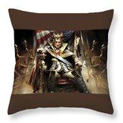 Assassin's Creed IIi Throw Pillow