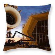 Assembling An Energy Efficient Jet Throw Pillow
