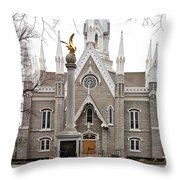 Assembly Hall Throw Pillow