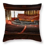 Assembly Hall Temple Square Throw Pillow