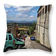 Assisi Italy I Throw Pillow