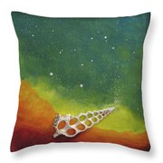 Assisted Nucleation Throw Pillow