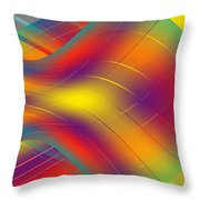 Assymetric Flow Throw Pillow