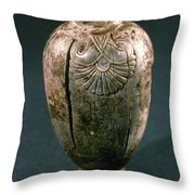 Assyrian Jug Throw Pillow