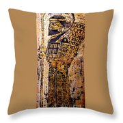 Assyrian Soldier Throw Pillow