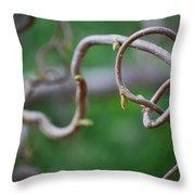 #astateofbeing Throw Pillow