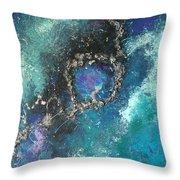 Asteroid Ring Throw Pillow