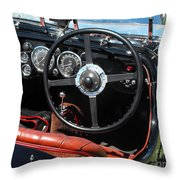 Aston Martin Dashboard Throw Pillow