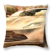 Aston Martin Db10 Throw Pillow