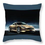 Aston Martin Dragon 88 Limited Edition 2 Throw Pillow