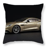 Aston Martin Vanquish Throw Pillow