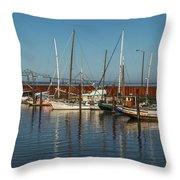 Astoria Marina Throw Pillow