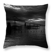 Astoria-megler Bridge 4 Throw Pillow