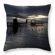 Astoria-megler Bridge Throw Pillow