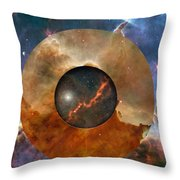 Astral Abstraction I Throw Pillow