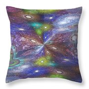 Astral Anomaly Throw Pillow