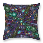 Astral Elixir Throw Pillow