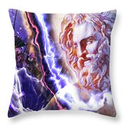 Astral Experience Throw Pillow