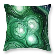 Astral Vision. Clearing Of Mind Throw Pillow