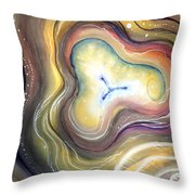 Astral Vision. Mind Concentration Throw Pillow