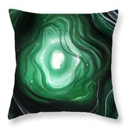 Astral Vision. When Sadness Goes Away Throw Pillow