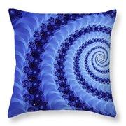 Astral Vortex Throw Pillow