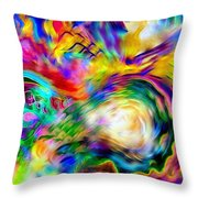 First Breath.. Throw Pillow