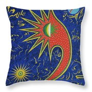 Astriasique Throw Pillow